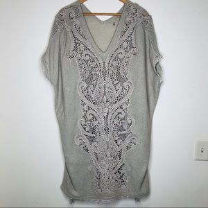 Anthro Knitted & Knotted Navan Caftan Tunic Dress
